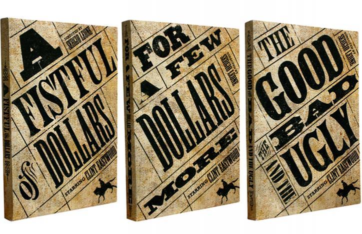 سه گانه دلار یا سه گانه مرد بدون نام; اسپاگتی با طعم تیر و دلار 1