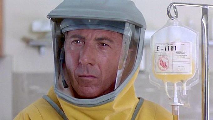 داستین هافمن در فیلم شیوع