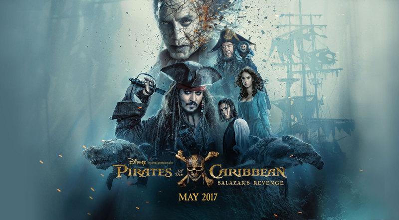 پوستر قسمت 5 دزدان دریایی کاراییب