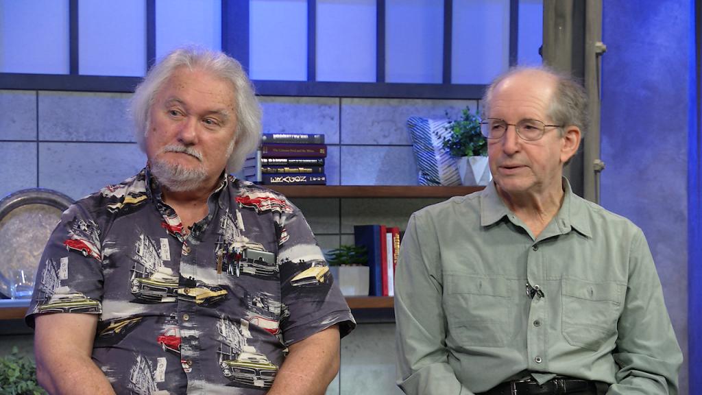 لورنس دوورت و رابرت روی پول نویسندگان فیلم شیوع