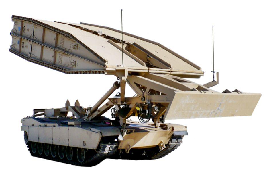 خودروی رزمی مهندسی پل گذار JAB M1074
