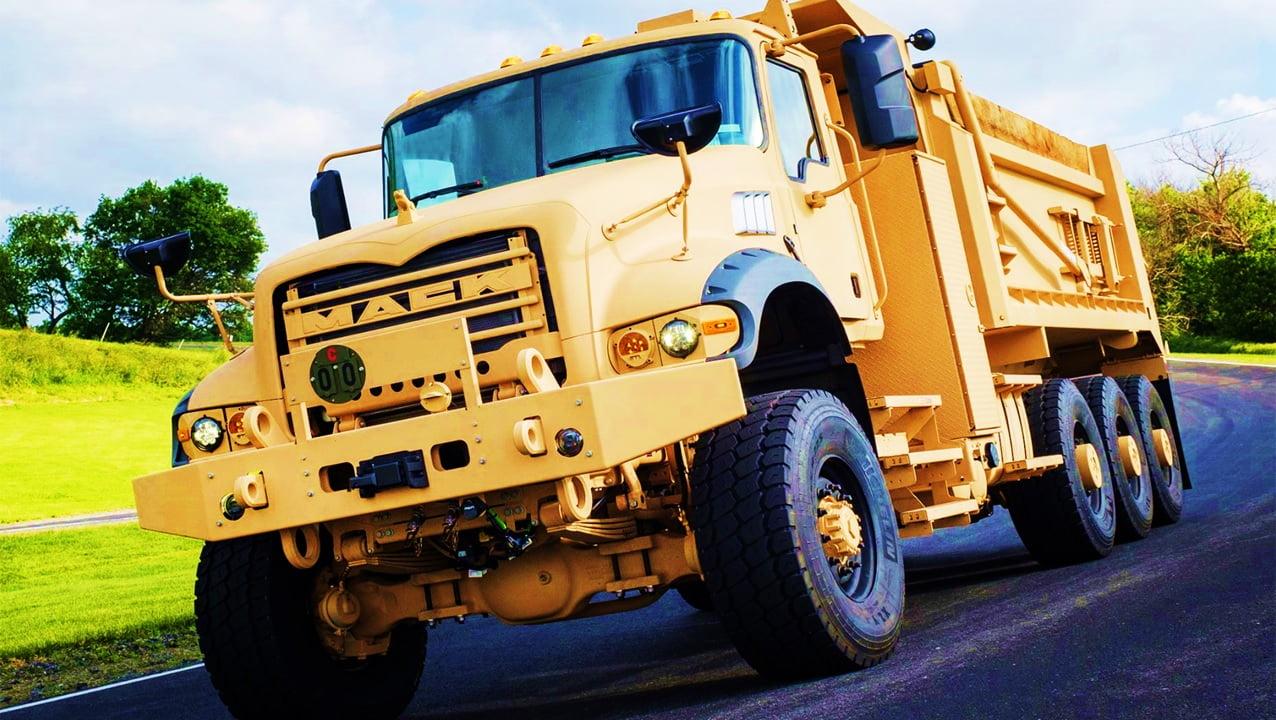بررسی کامیون نظامی M917A3