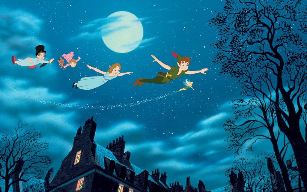 نمایی از انیمیشن پیتر پن