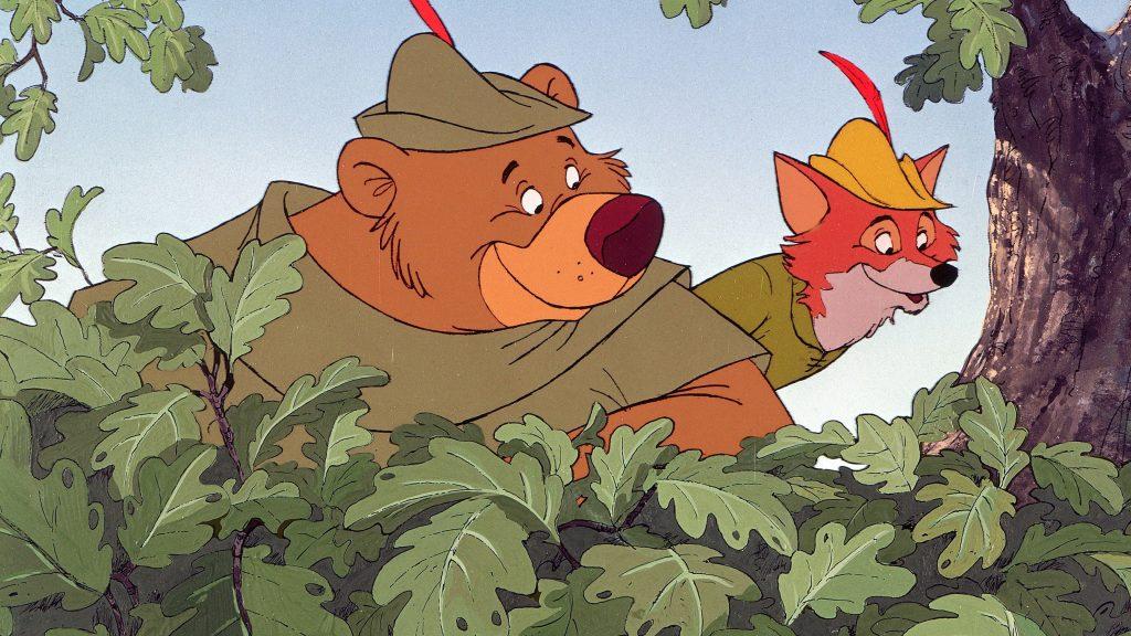 رابین هود و جان کوچک در انیمیشن رابین هود