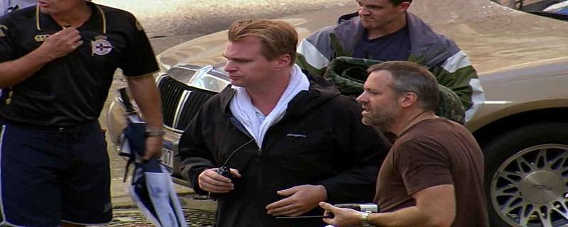 کریستوفر نولان در پشت صحنه فیلم تنت