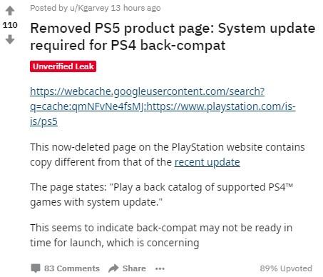 سازگاری پیشین پلیاستیشن 5 به شما اجازه میدهد بازیهای پلیاستیشن 4ی را که پوشش داده میشوند، بازی کنید. 3