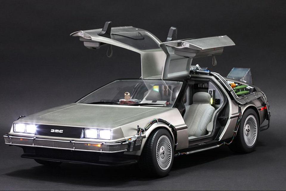 DeLorean در فیلم بازگشت به آینده