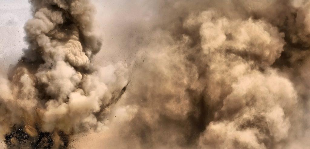 چطور انفجار پودر رخ می دهد ؟ 4