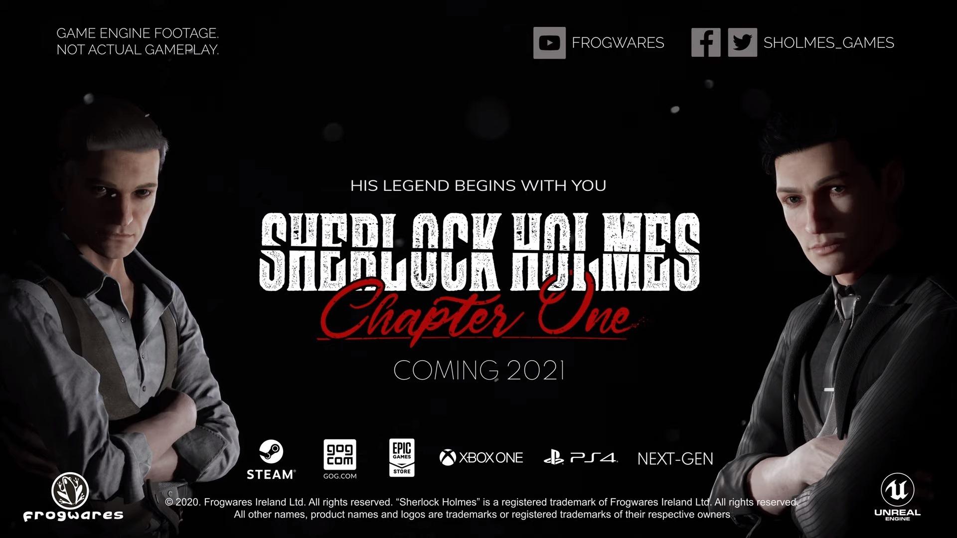 Sherlock Holmes: Chapter One به صورت رسمی معرفی شد.