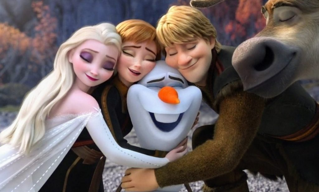 شخصیت های Frozen 3