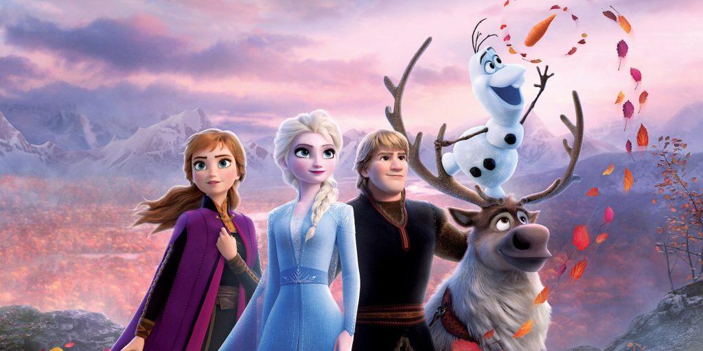 frozen 3 شخصیت های