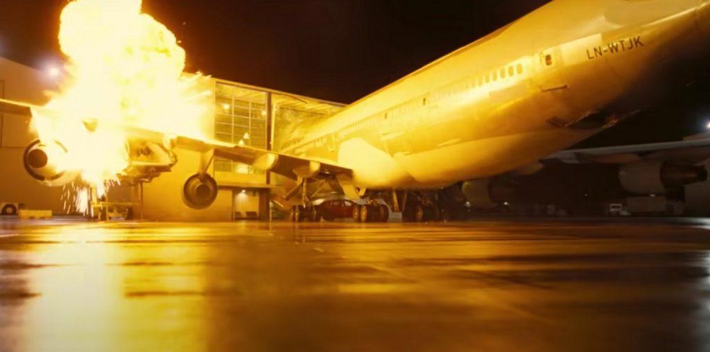 تصادف هواپیما در تنت