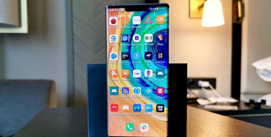 صفحه ی نمایش Huawei Mate 30 Pro_ ریون مگ