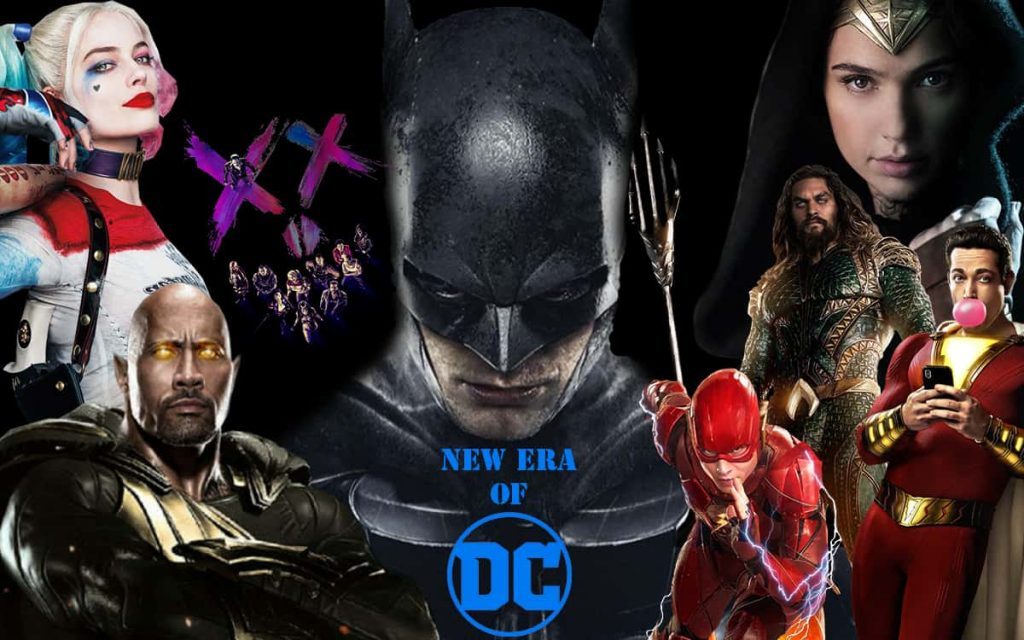 upcomming dc extended universe movies