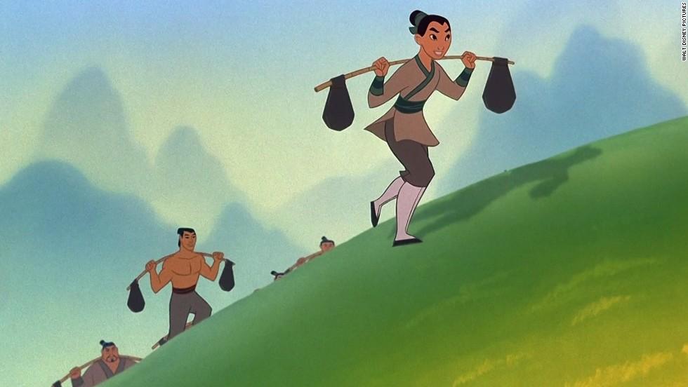 مولان در انیمیشن مولان