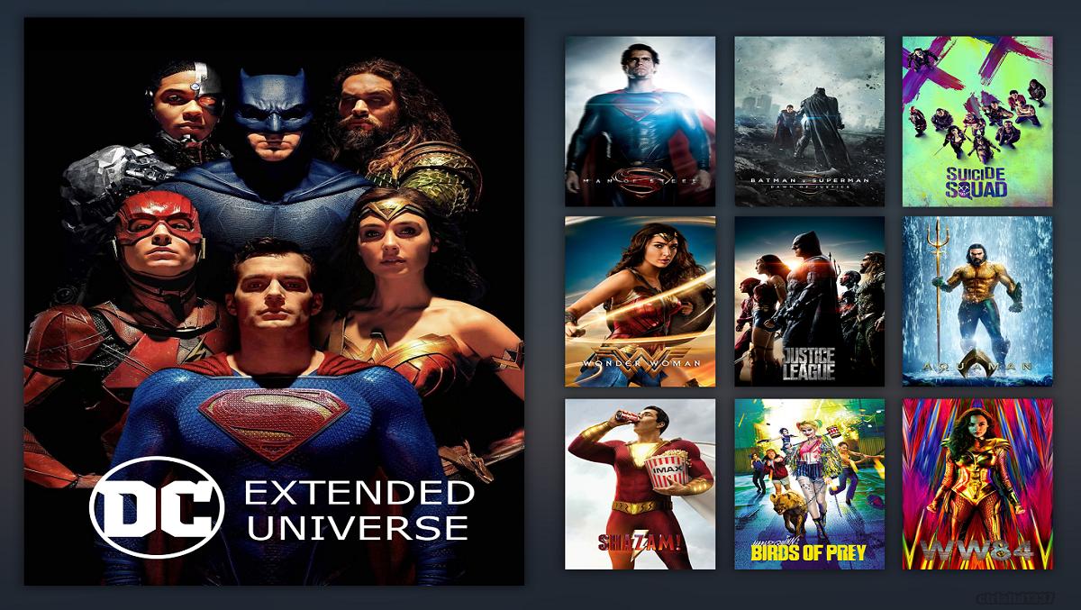 بهترین ترتیب مشاهده ۸ فیلم دنیای گسترده دی سی DC Extended Universe