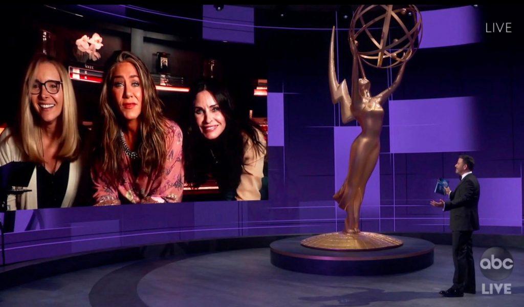 مصاحبه با بازیگران سریال فرندز در امی 2020