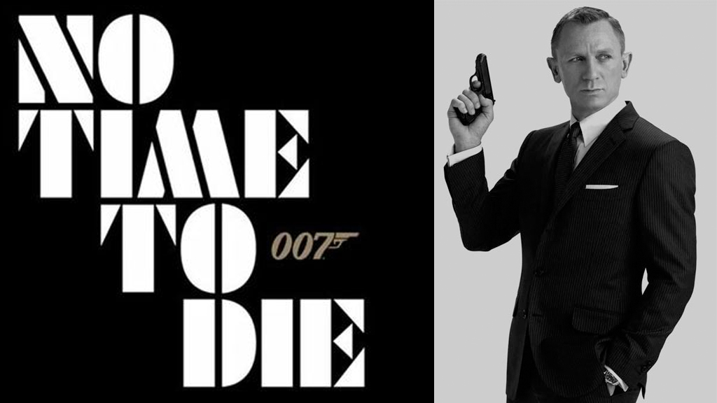 Daniel Craige As James bond in No Time To Die
