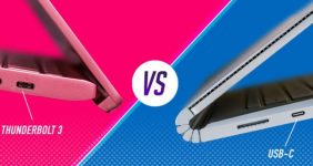 تفاوت تاندربولت 3 و USB-C _ ریون مگ