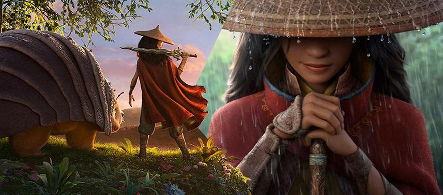 اولین تریلر فیلم Raya and the Last Dragon توسط دیزنی منتشر شد