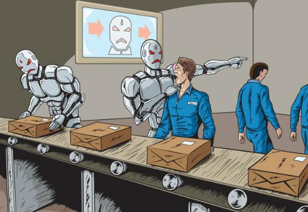 جایگزینی شغل ها توسط ربات ها