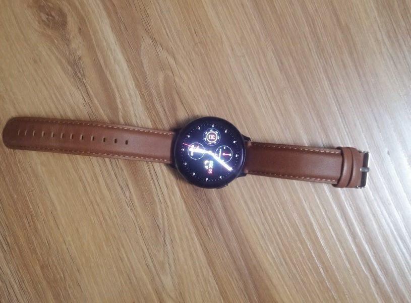 6. ساعت هوشمند سامسونگ مدل Galaxy Watch Active2 44mm Leatherband Smart _پر فروش ترین ساعت های هوشمند سامسونگ2_ریون مگ