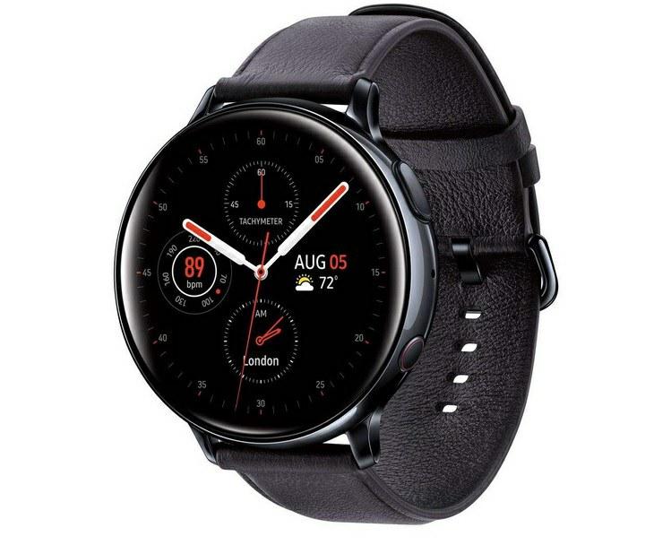 6. ساعت هوشمند سامسونگ مدل Galaxy Watch Active2 44mm Leatherband Smart _پر فروش ترین ساعت های هوشمند سامسونگ_ریون مگ