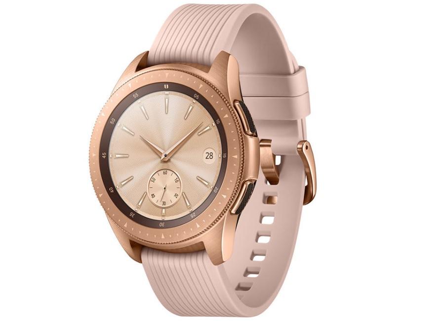 3.ساعت هوشمند سامسونگ مدل Galaxy Watch SM-R810 _پر فروش ترین ساعت های هوشمند سامسونگ_ریون مگ