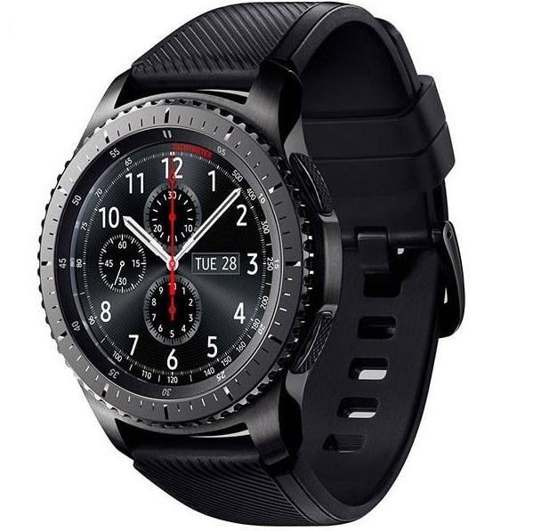 7.ساعت هوشمند سامسونگ مدل Gear S3 Frontier SM-R760 _پر فروش ترین ساعت های هوشمند سامسونگ_ریون مگ
