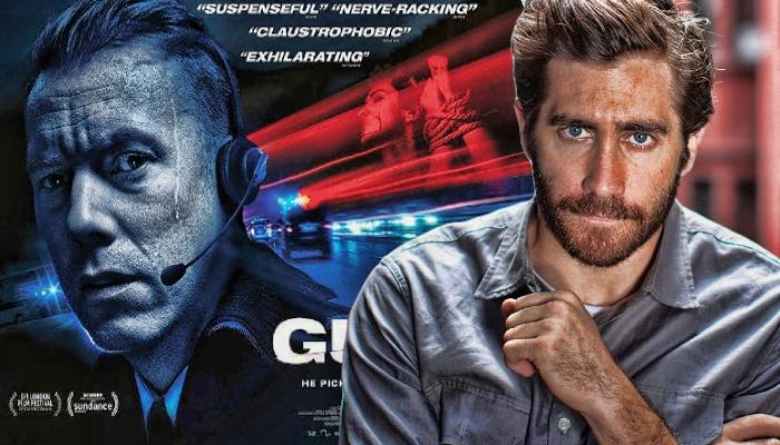 جیک جیلنهال و پوستر فیلم دانمارکی  The Guilty