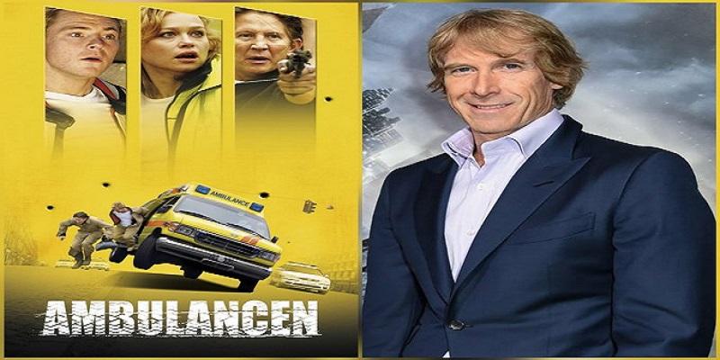 مایکل بی و پوستر فیلم دانمارکی Ambulance