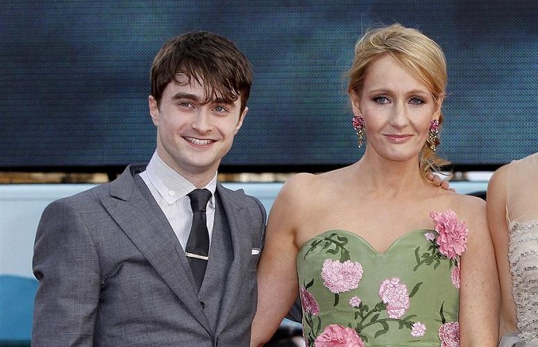 Daniel Radclffe ،  J.K.Rowling