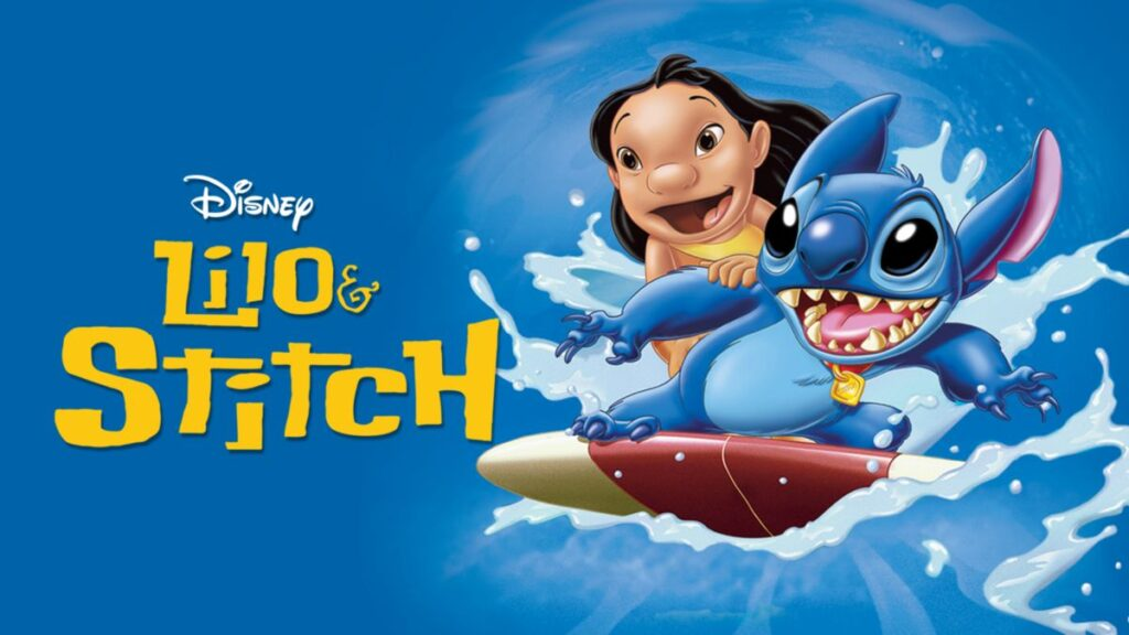 پوستر انیمیشن  Lilo & Stitch