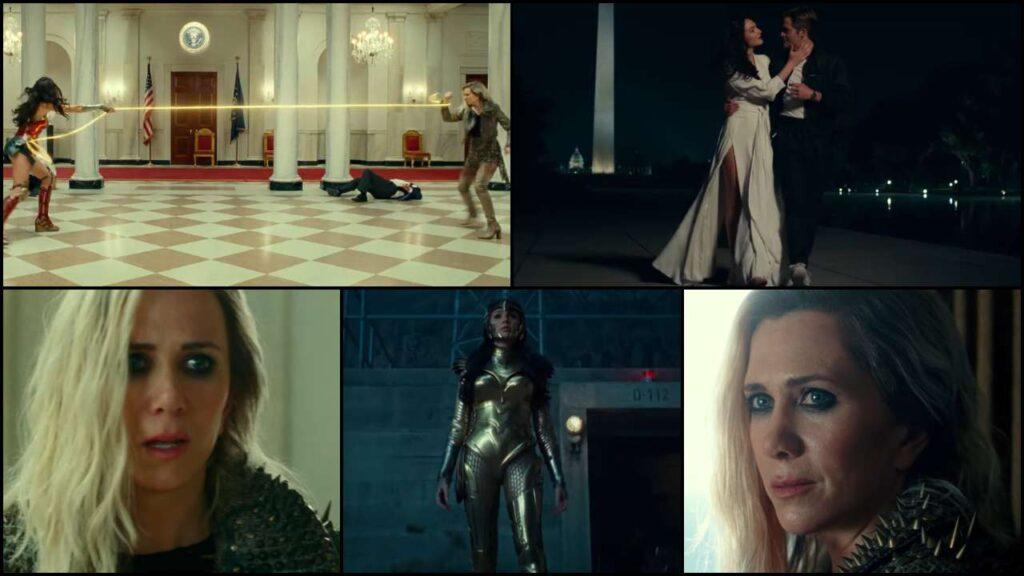 صحنه هایی از فیلم Wonder Woman 1984