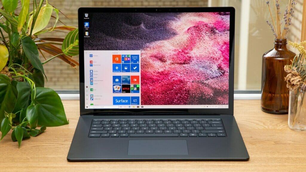 Microsoft Surface Laptop 3  : بهترین لپ تاپ ماکروسافت 2_ ریون مگ