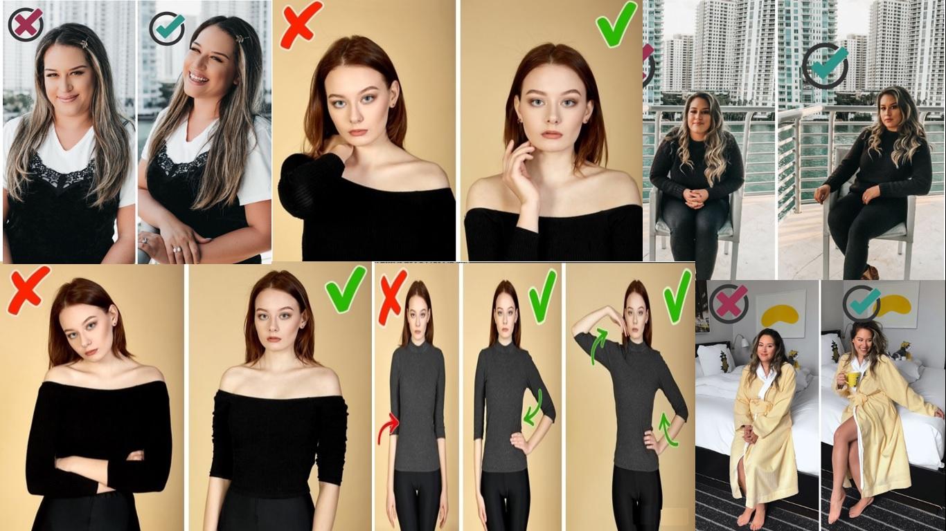 10 اشتباه که برای ژست عکاسی باید از آنها اجتناب کنید_ریون مگ