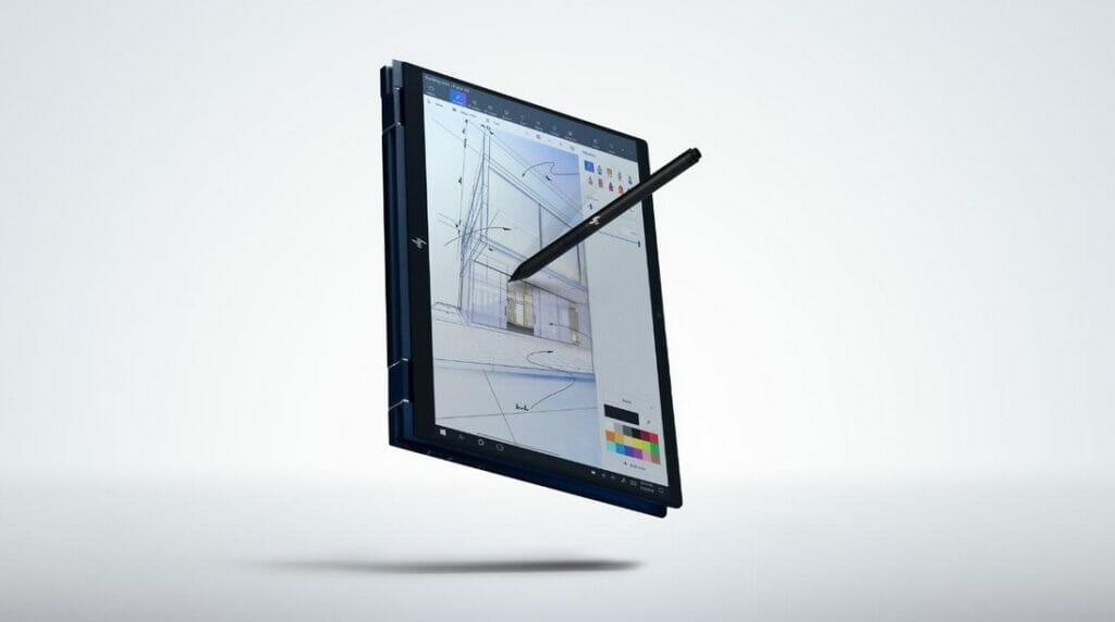 HP Elite Dragonfly  : بهترین لپ تاپ 2 در  1_ریون مگ 2