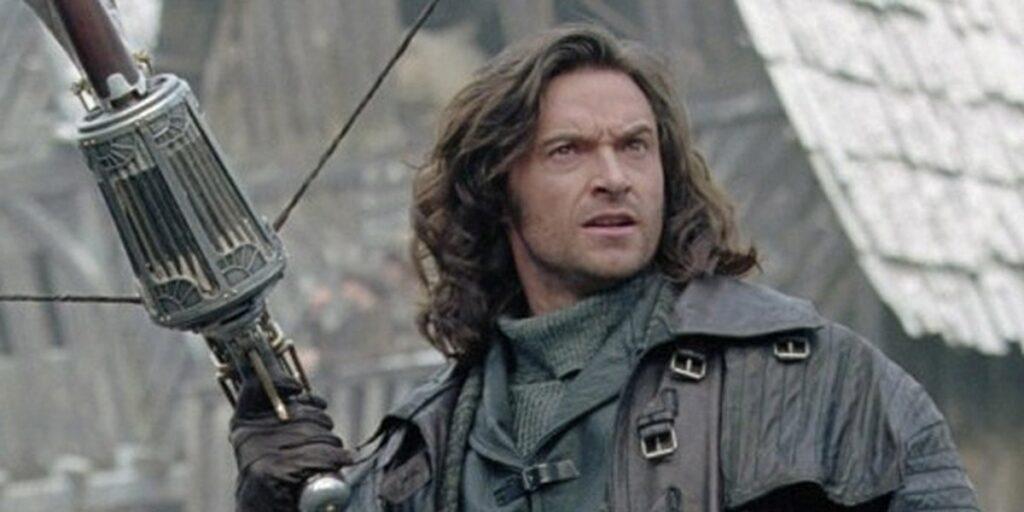 هیو جکمن در نقش Van Helsing