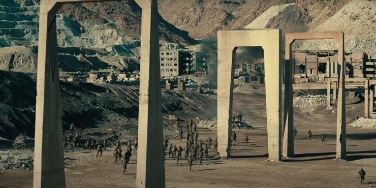نمایی از شهر بسته فیلم TENET