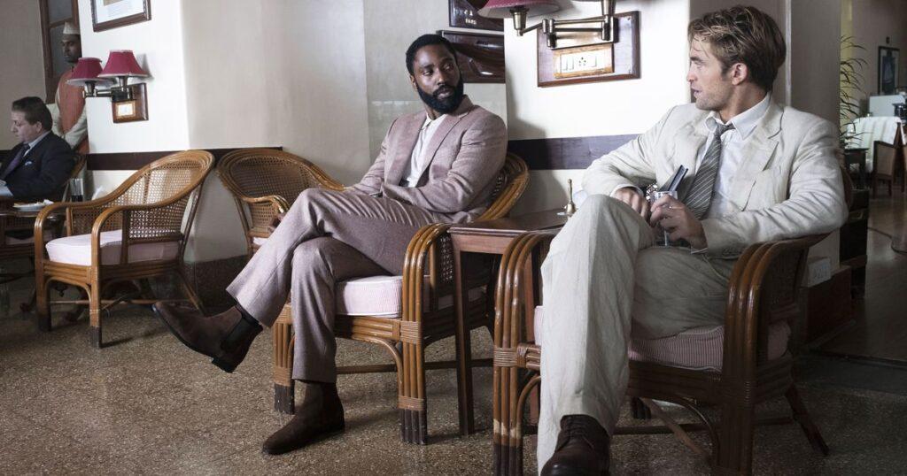 رابرت پتینسون و جان دیوید واشنگتن  در فیلم TENET