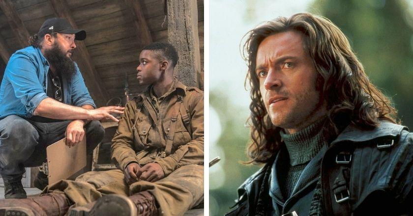هیو جکمن در نقش Van Helsing و ژولیوس آوری در پشت صحنه Overland