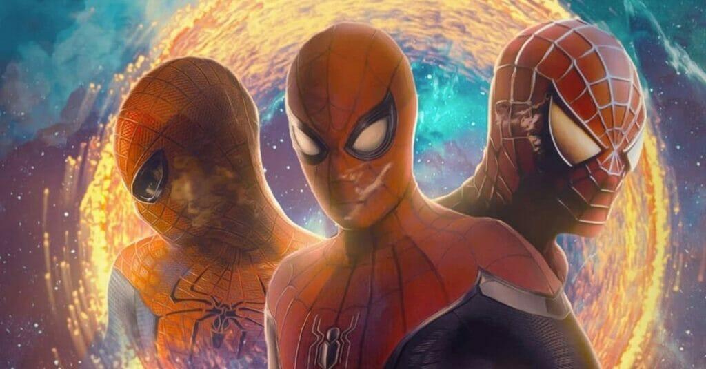 3 مرد عنکبوتی