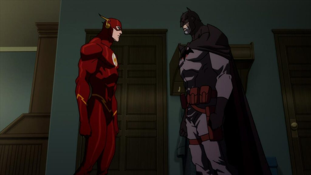 Justice League: The Flashpoint Paradox  اولین فیلم DC Animated Movie Universe