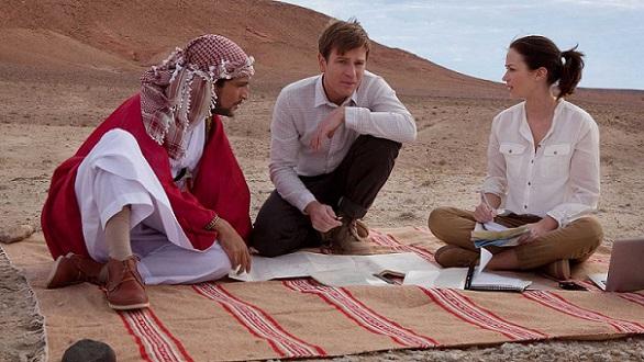 امیلی بلانت در فیلم Salmon Fishing in the Yemen