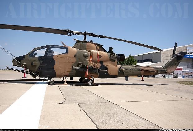 کبرا AH-1F نسل چهارم کبراتاو