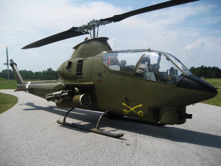 کبرا AH-1Q با برجک M28