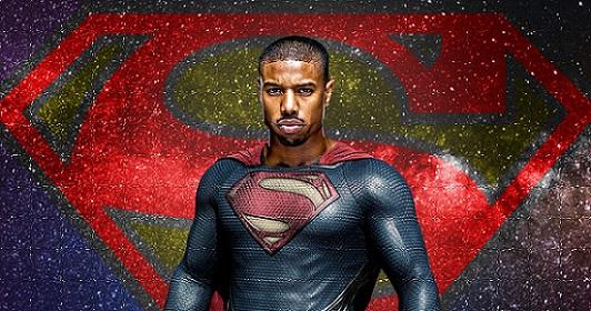 مایل بی جوردن به عنوان سوپرمن سیاه پوست