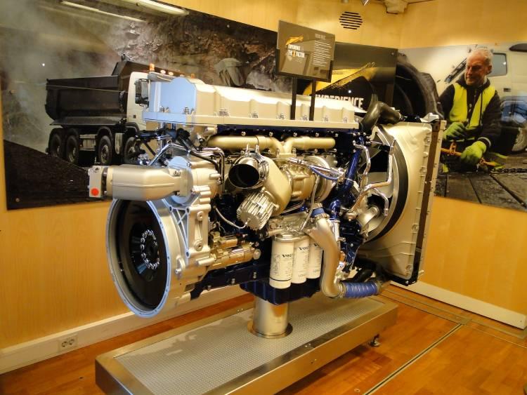 موتور کامیون ولوو اف ام ایکس 460