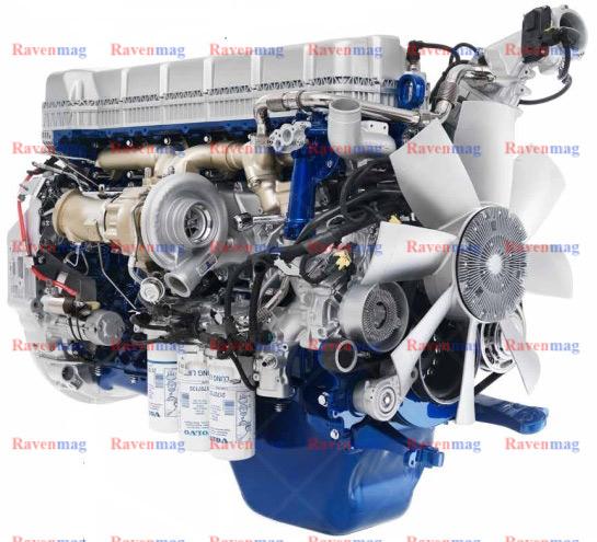 موتور کامیون اف ام ایکس 460